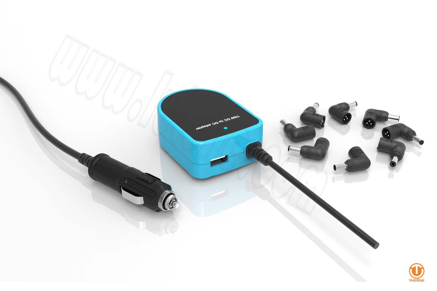 ta07c2-1 car adapter with usb