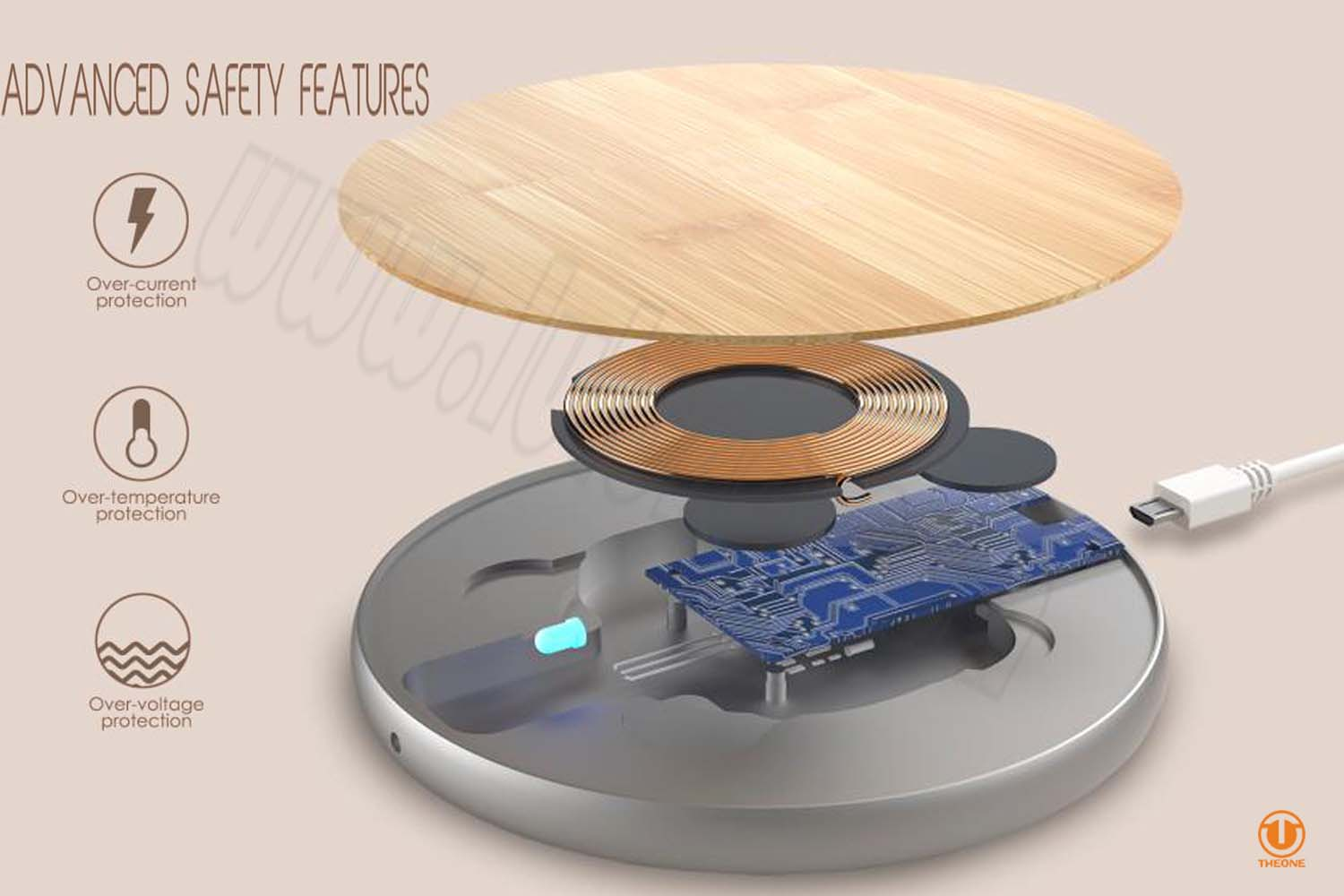 tw02 3 wireless charger