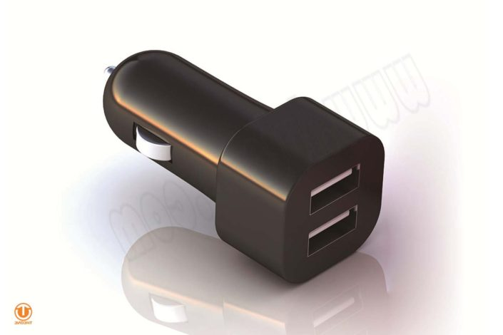 tc02a2-1 dual ports car charger