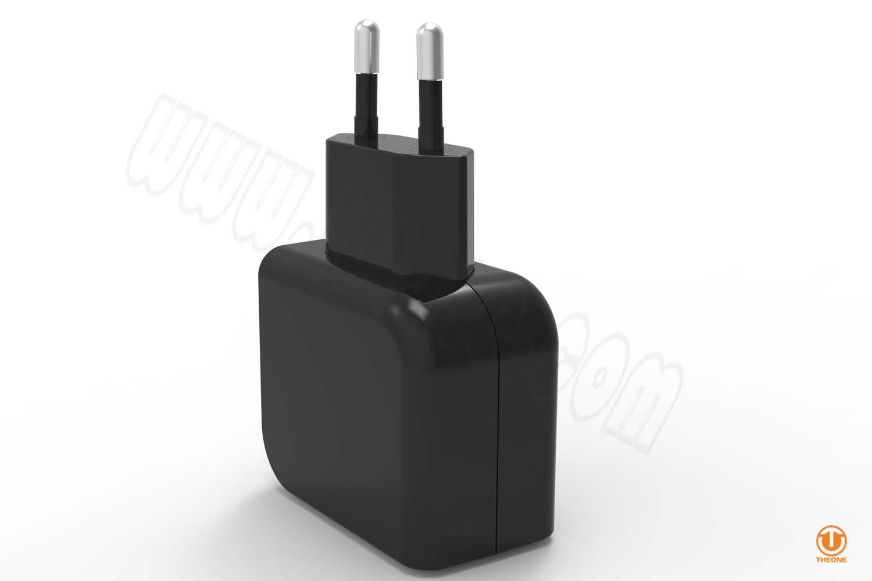 tc02b3-3 dual usb wall charger