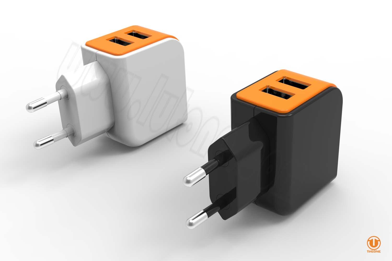 tc02b3-5 dual usb wall charger