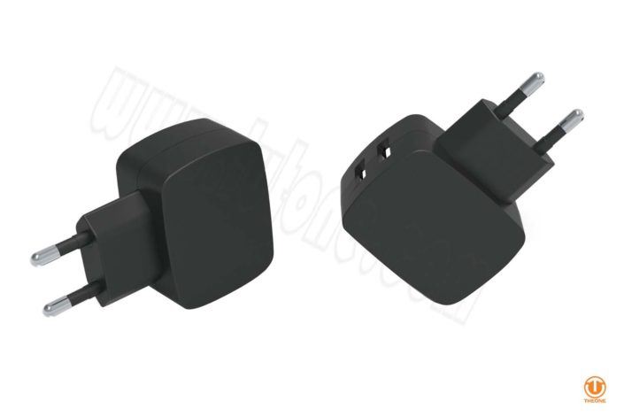 tc02b6-1 dual usb wall charger