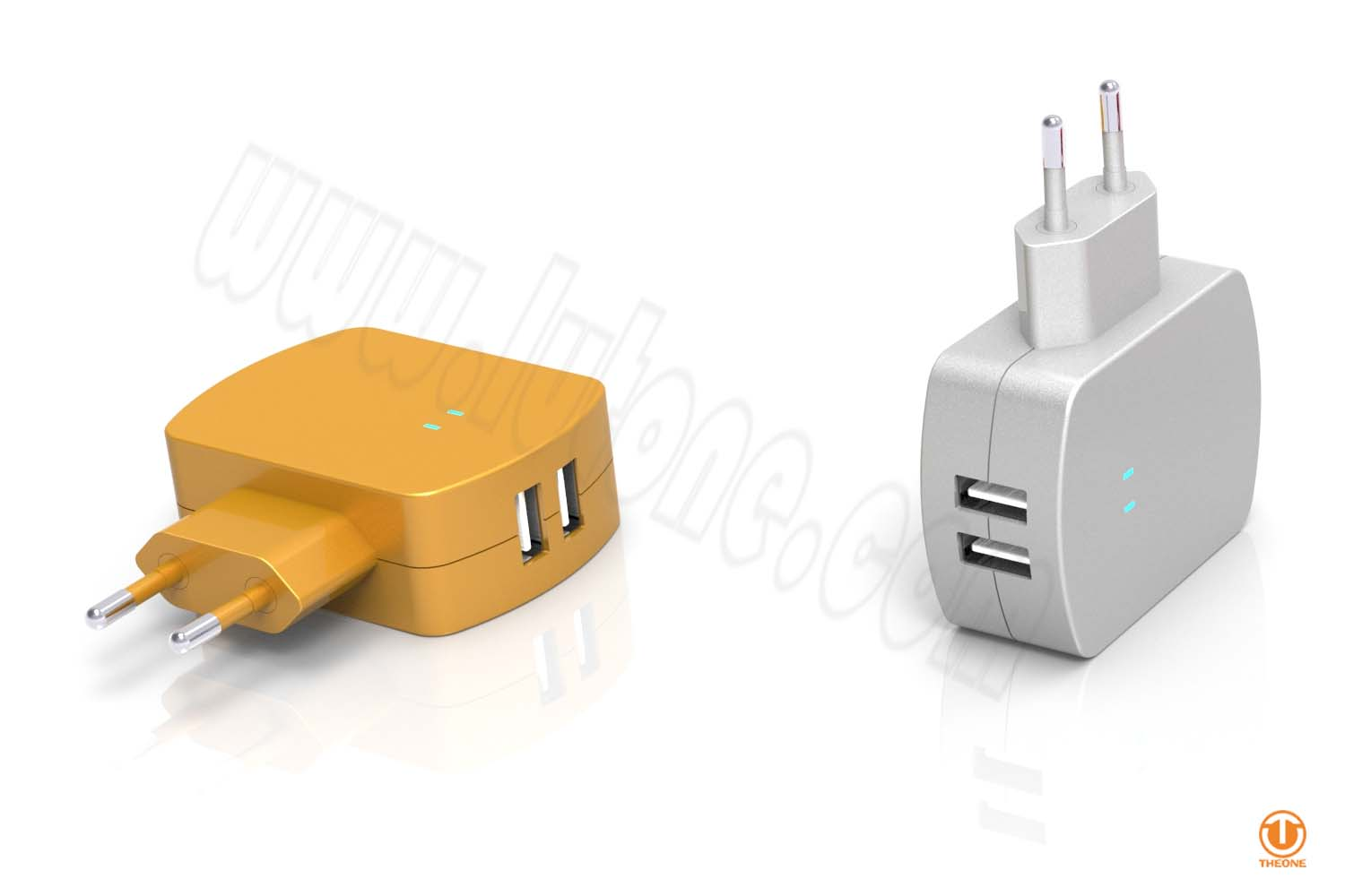 tc02b6-2 dual usb wall charger
