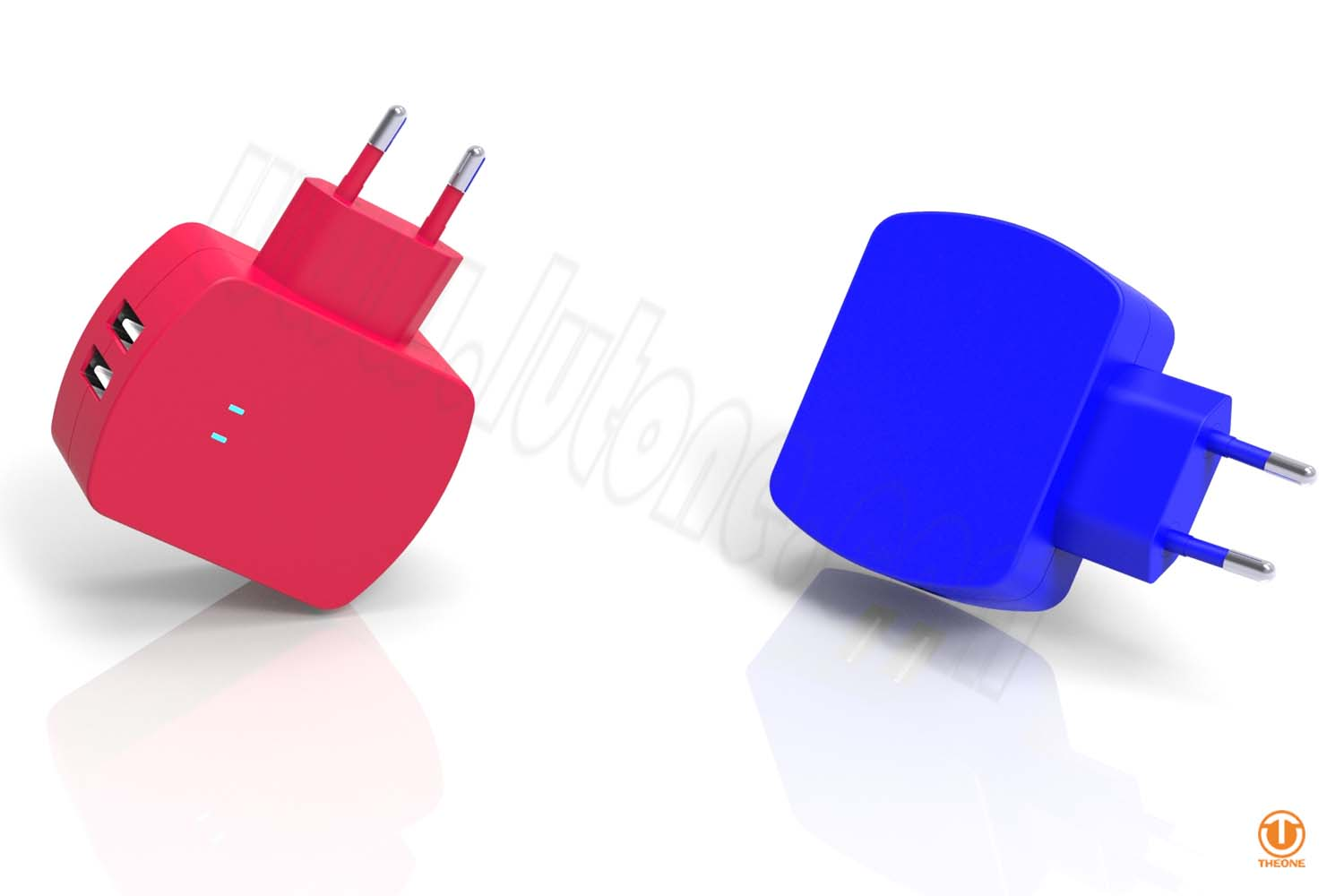 tc02b6-3 dual usb wall charger