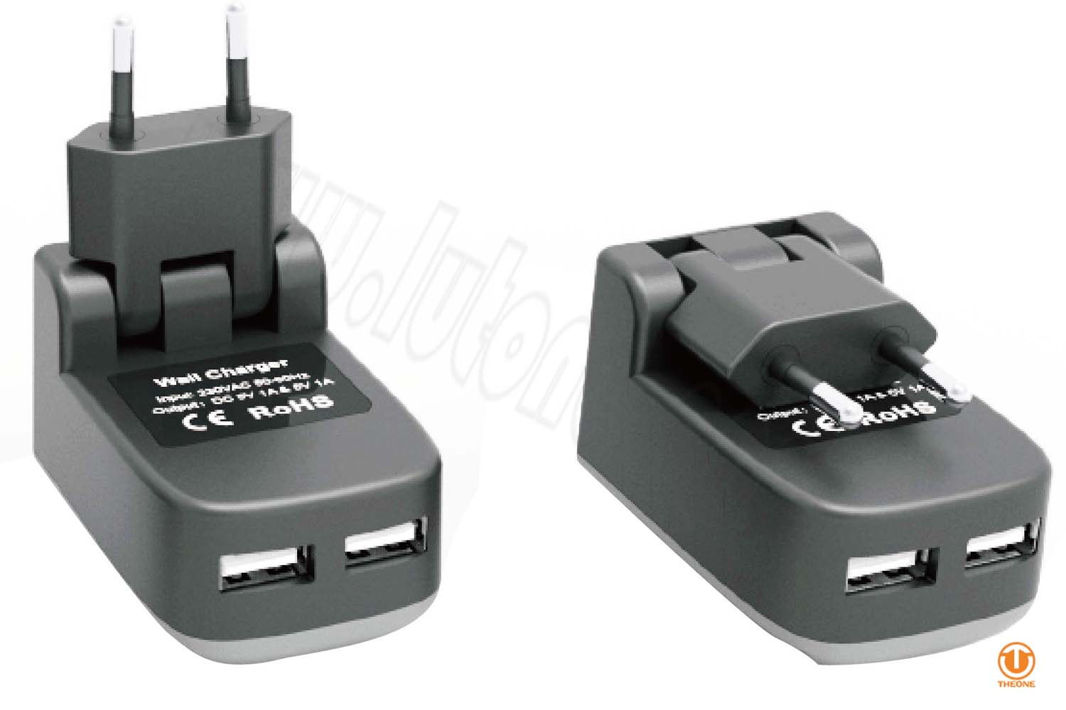 tc02b8-1 dual usb wall charger