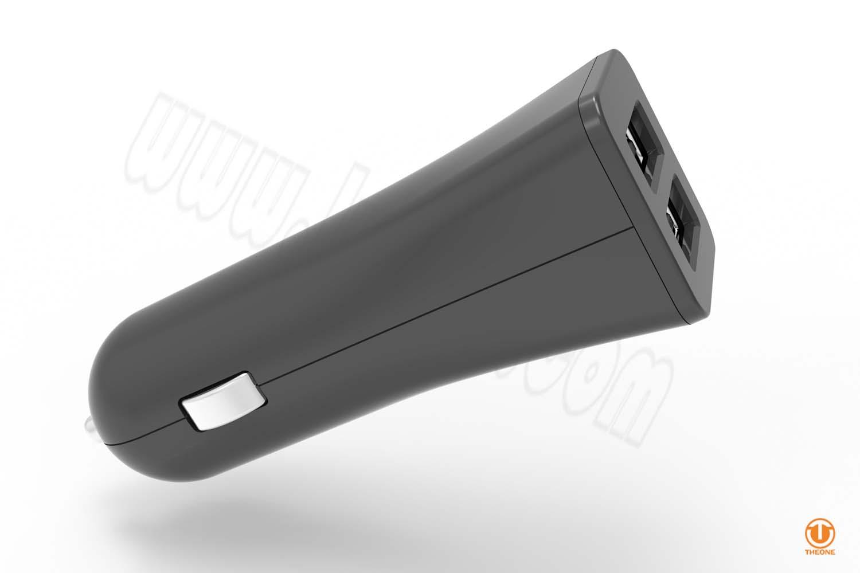 tc02c4-4 dual ports car charger