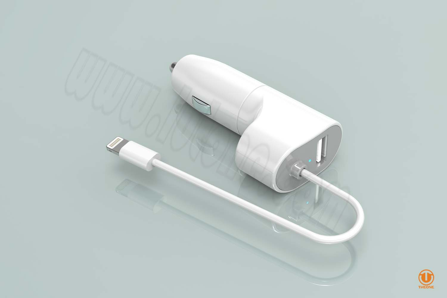 tc03a1-4 wired car charger