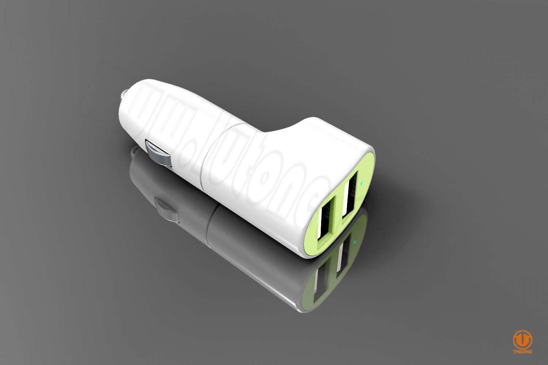 tc03a2-4 dual ports car charger