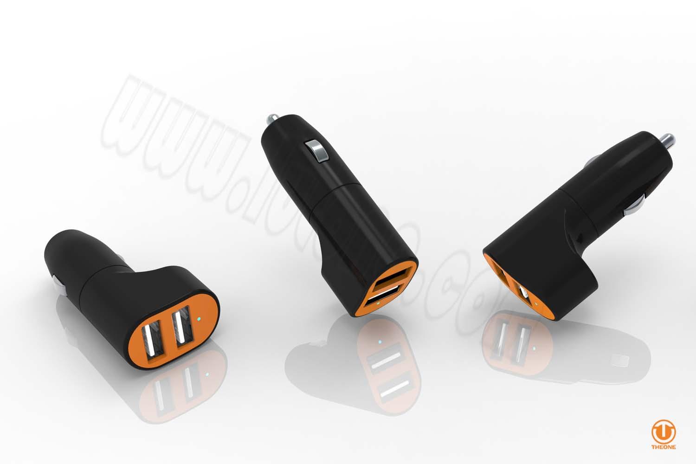 tc03a2-5 dual ports car charger