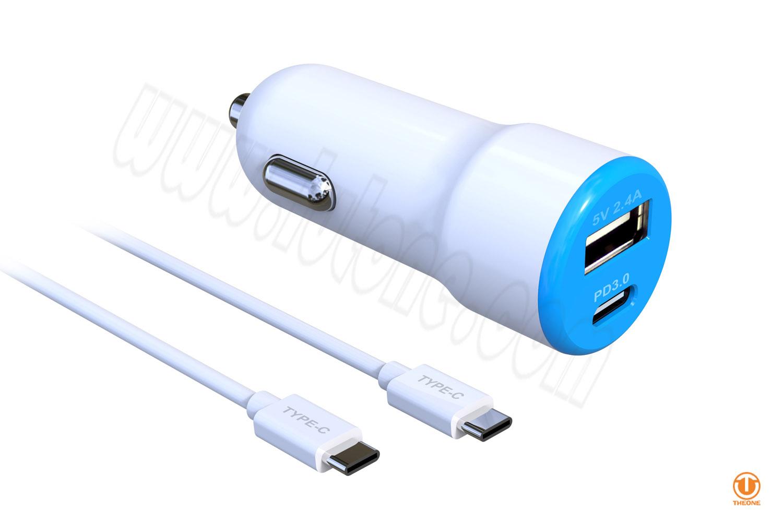 tc03a4-2 pd car charger qc3.0