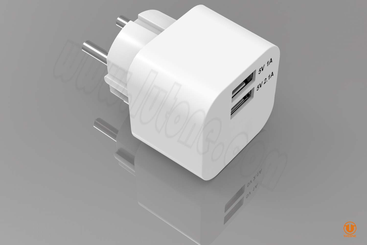 tc03b2-3 dual usb wall charger