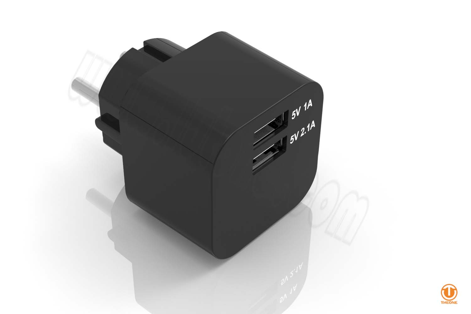 tc03b2-5 dual usb wall charger