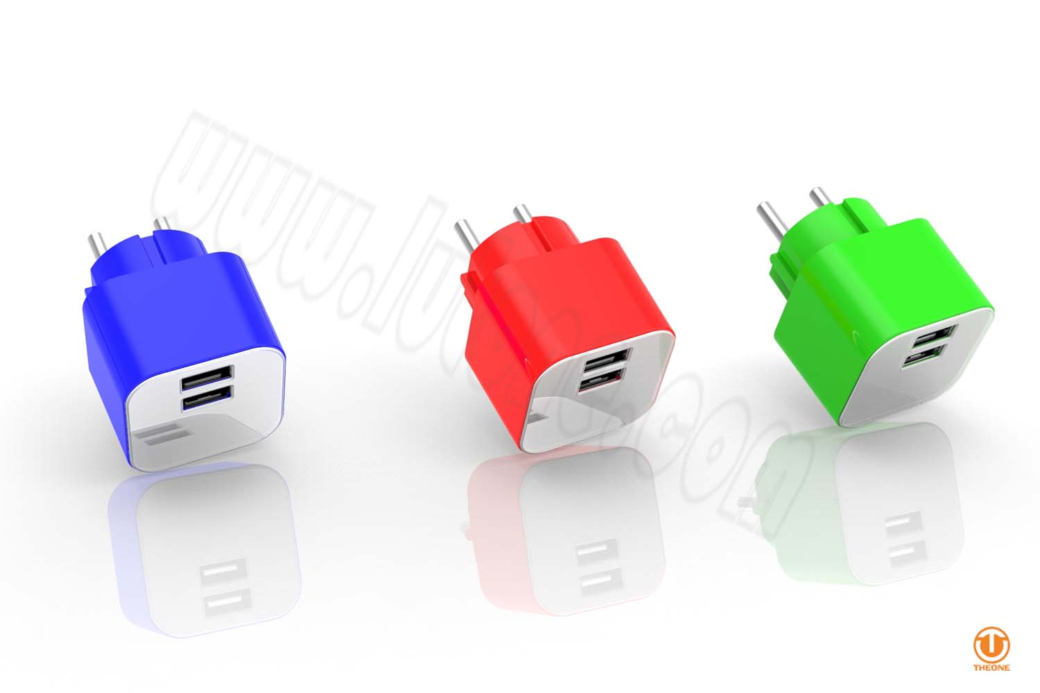 tc03b2-6 dual usb wall charger
