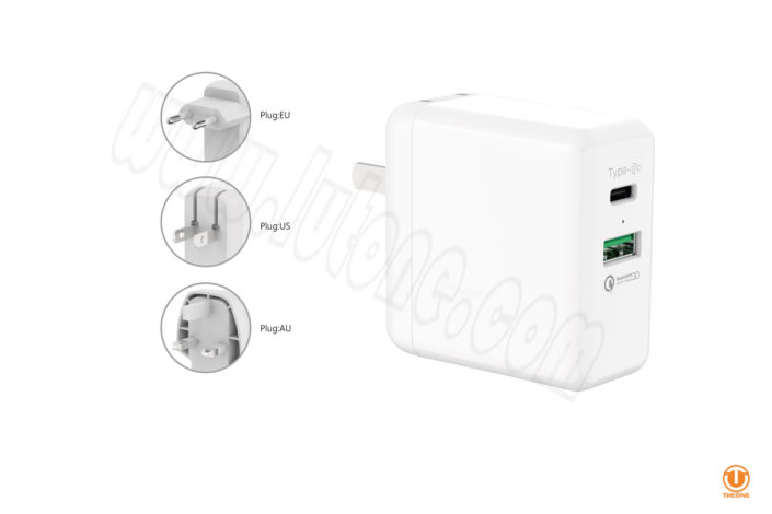 tp361ca-1 usb-c qc3.0 pd charger