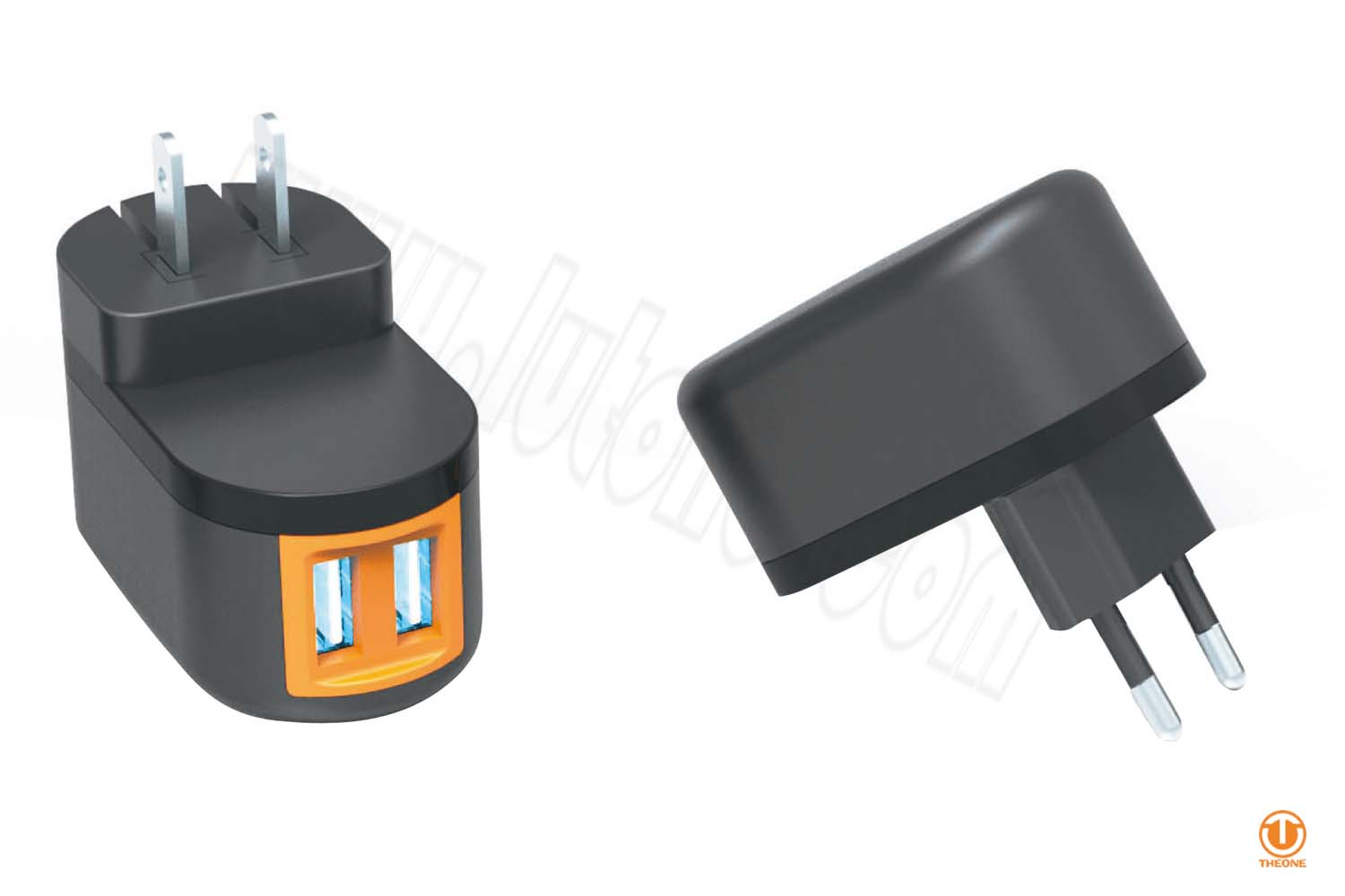 tw01a8-2 dual usb wall charger