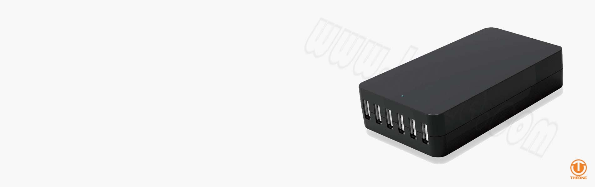 tw06a2-banner multi-usb quick charger wall charger