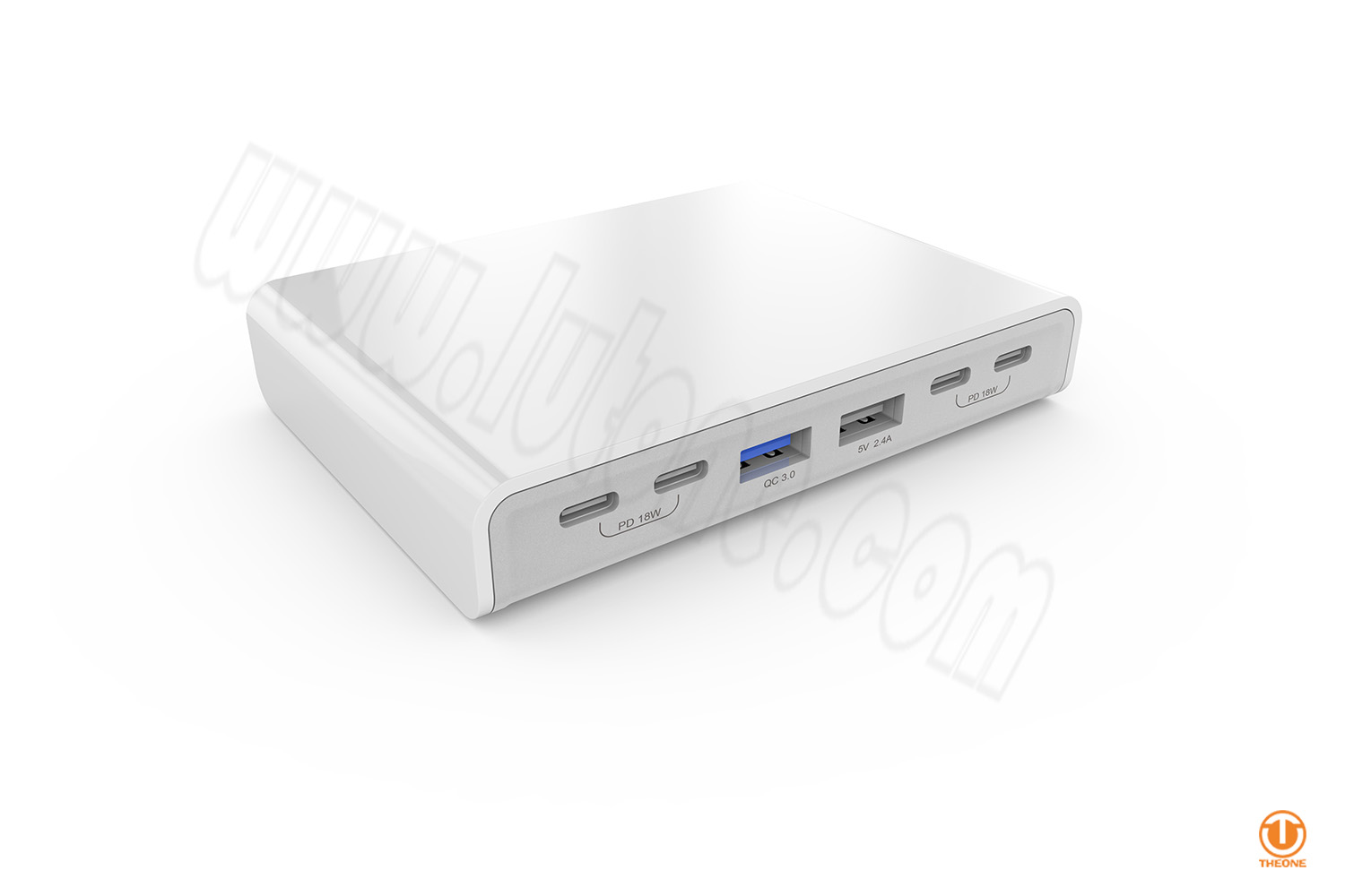 tp651- multi-usb charging station with pd and qc