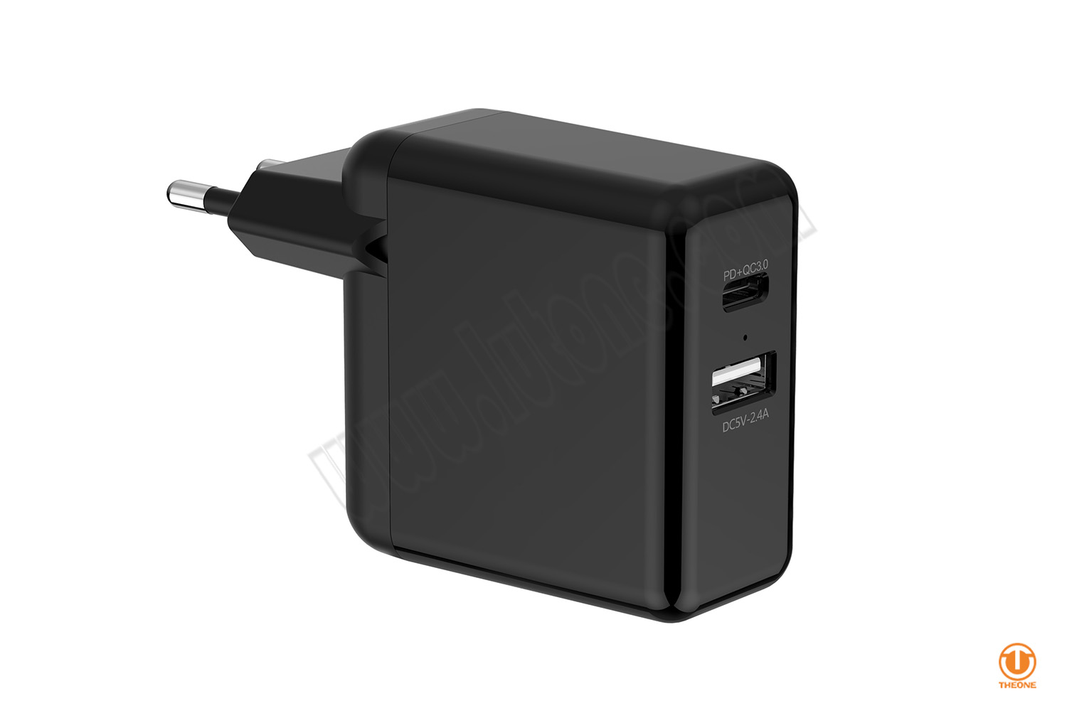 30W USB-C PD Charger (with extra USB port)