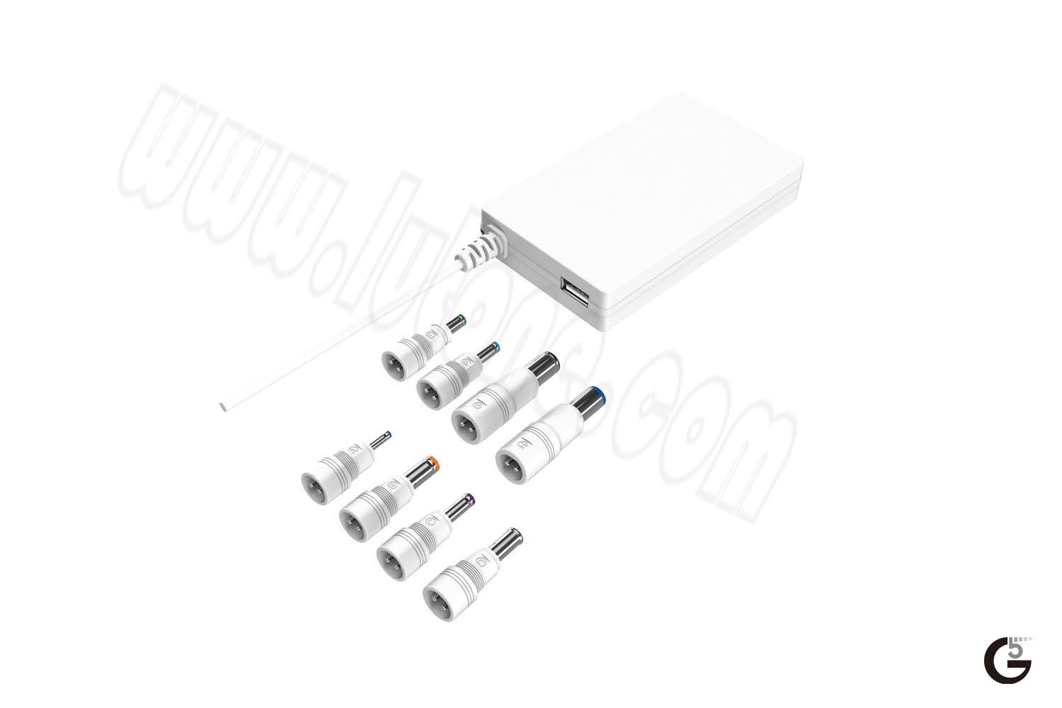 compact universal notebook charger