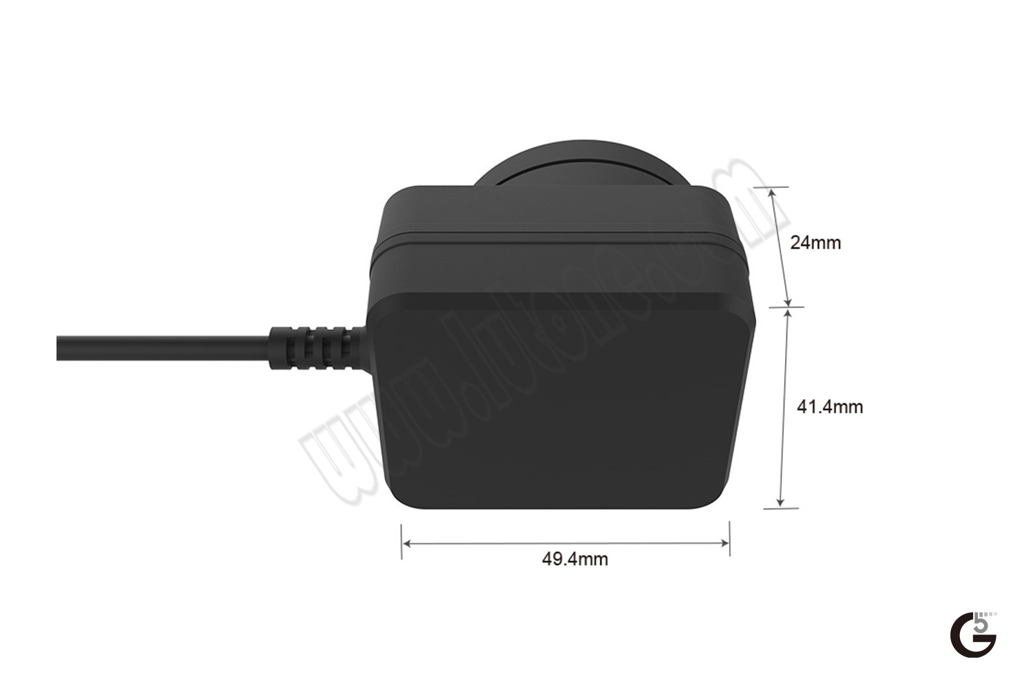 6W Interchangeable Horizontal USB/Cable Series