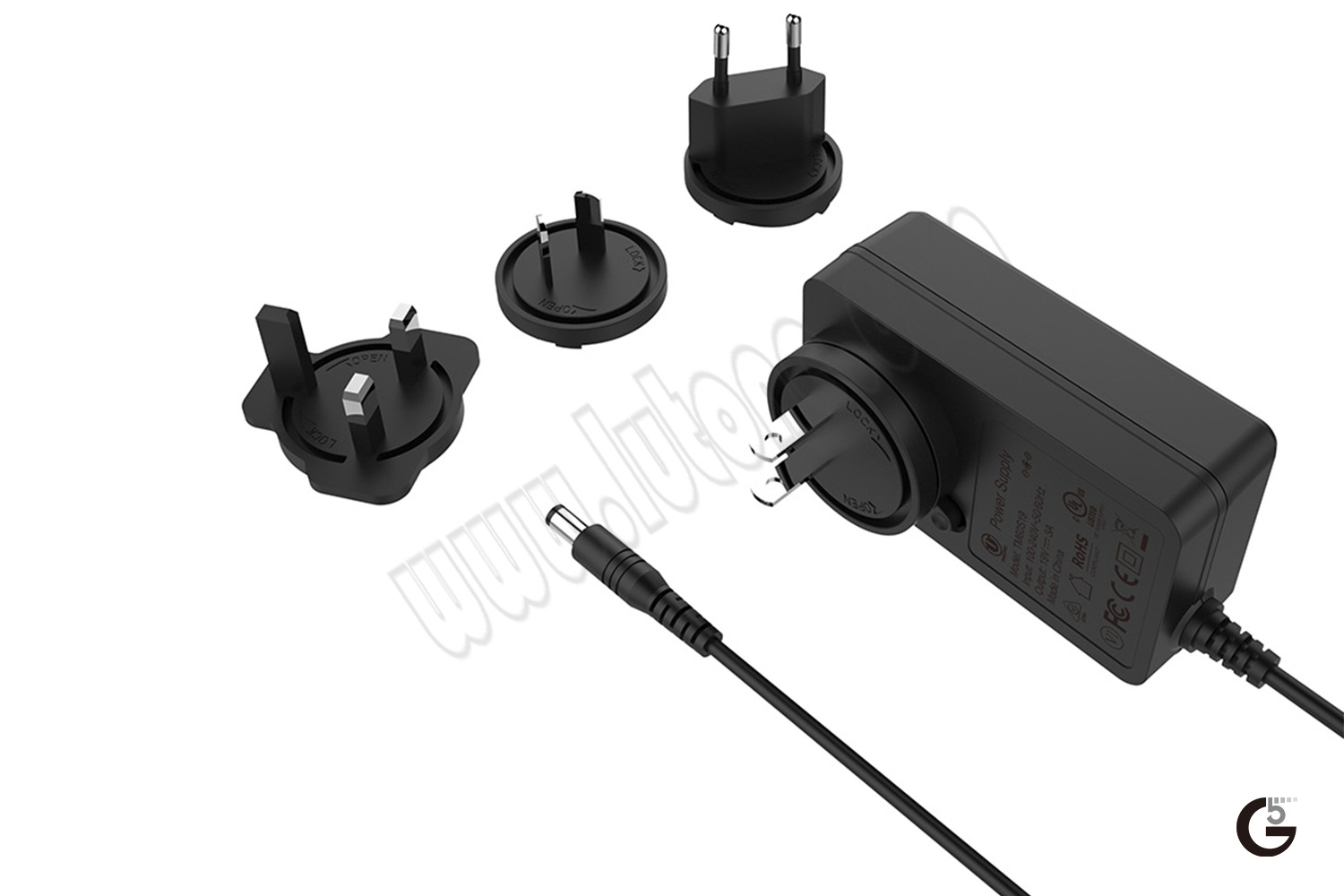 60W Interchangeable Horizontal USB/Cable Series